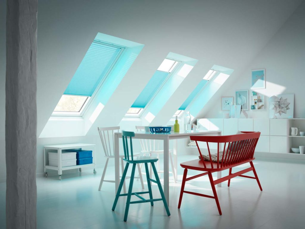 Velux trezeta tende treviso for Finestre velux tende